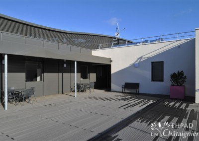 Terrasse de l'EHPAD