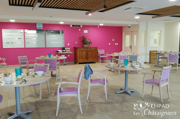 Salle A Manger Ehpad Les Chataigniers